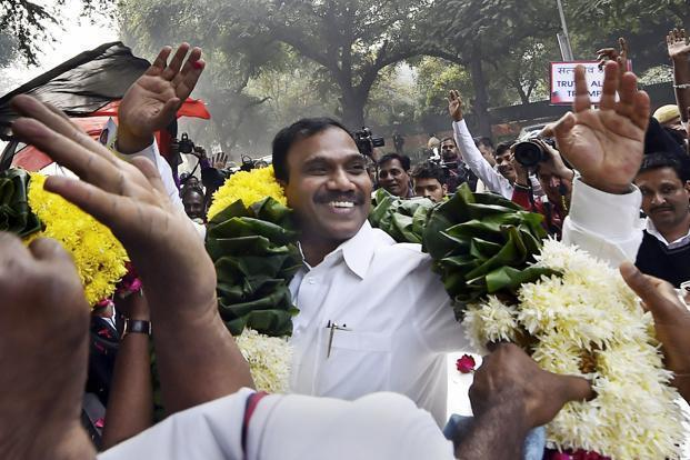 Delhi HC issues notices to A. Raja, Kanimozhi in 2G scam appeal