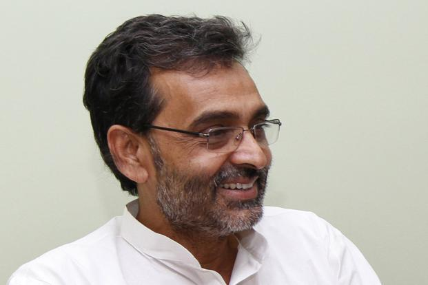 A file photo of Upendra Kushwaha, minster of state for HRD. Photo: Hindustan Times