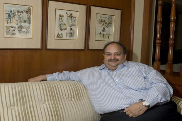 Gitanjali group Mehul Choksi is at the centre of the $2 billion PNB fraud. Photo: Priyanka Parashar/Mint