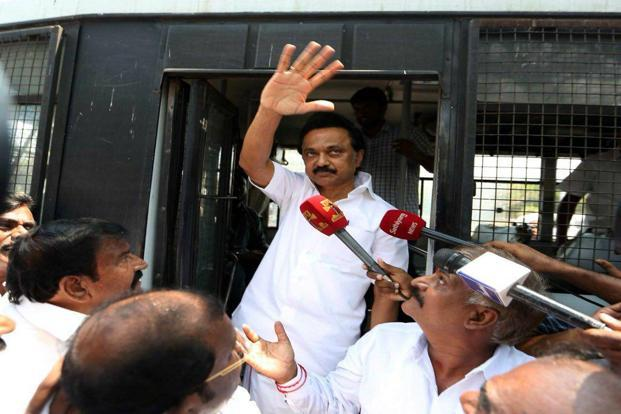 DMK MLAs disrupt TN House proceeding over Ram Rajya Rath Yatra, evicted