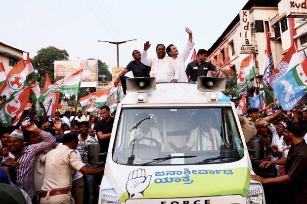 Karnataka elections: Rahul Gandhi steps up attack on Narendra Modi, BJP