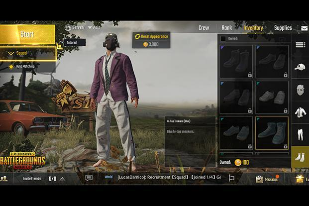 Event Mode in 'PUBG' offers limited-time custom games
