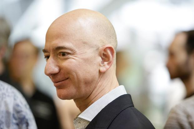 Jeff Bezos, Amazon founder, has added $32.8 billion to his net worth since the start of the year. Photo: AFP
