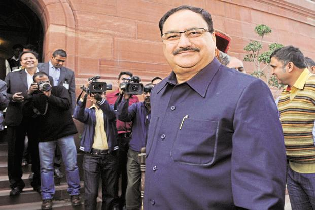 J.P. Nadda, union minister of health and family welfare. File photo: HT