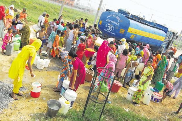 India's water issues are frightening and complex. The 'sarkaar' and the 'bazaar' deal with these in their own framework. Photo: Priyanka Parashar/Mint
