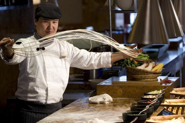 Chef Jack Wang's Noodle Theatre.
