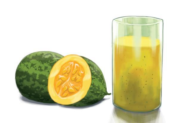 Kachri ka paani is made from wild melons and it's popular in Delhi,