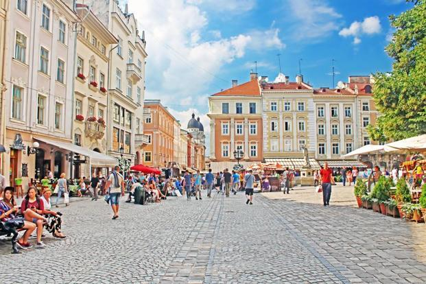 Market Square is the heart of Lviv's historic centre. Photo: iStockphoto