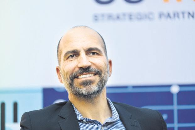 Uber chief Dara Khosrowshahi has been pushing to clean up the company's financials in preparations for an initial public offering next year
