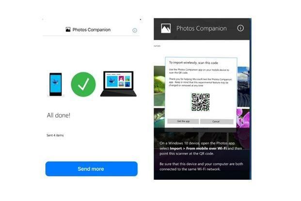 Users can connect their smartphone to any Windows PC by scanning a QR code.