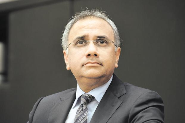 Salil Parekh's contract has a non-compete clause that says he cannot work with eight IT firms for six months from the time he leaves Infosys, and does not get a minimum salary. Photo: Hemant Mishra/Mint