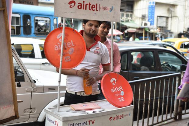 Star India, which has a bouquet of nearly 50 channels, in a campaign has asked Airtel Digital TV subscribers to switch to new DTH/operators in order to continue watching its channels. Photo: Indranil Bhoumik/Mint
