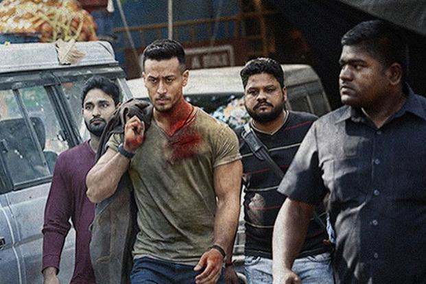 A still from the Tiger Shroff-starrer 'Baaghi 2'.