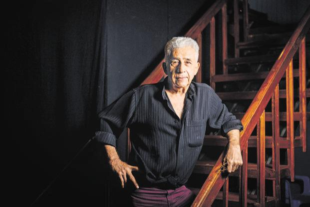 The National School of Drama is somewhat of a white elephant today and it's a moot point whether it is serving any purpose at all; the problem is its centralized nature and focus on Hindi language theatre, says Naseeruddin Shah. Photo: Aniruddha Chowdhury/Mint