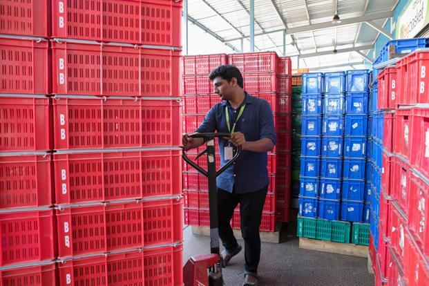 Container storage would be attracting approximately Rs500 crore in the same period mostly to boost India's logistics prowess. Photo: Bloomberg