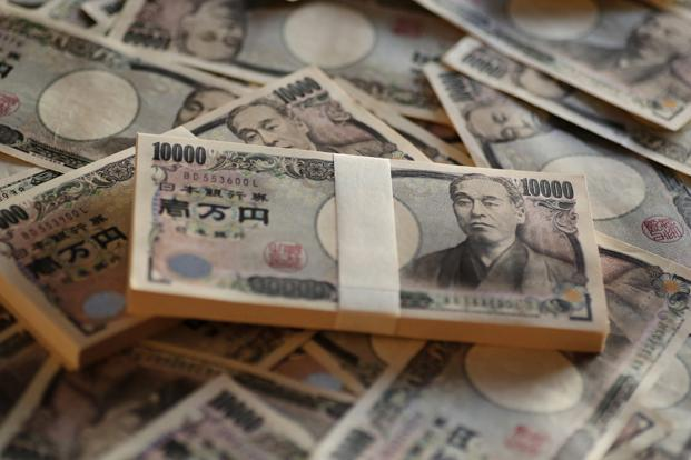 The Japanese yen is being viewed as a safe haven. Photo: Bloomberg