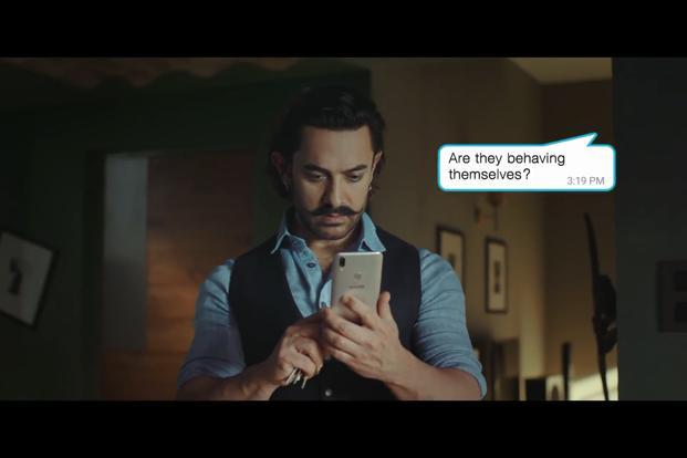 Aamir Khan is back on television screens as the new brand ambassador of Chinese smartphone brand Vivo.