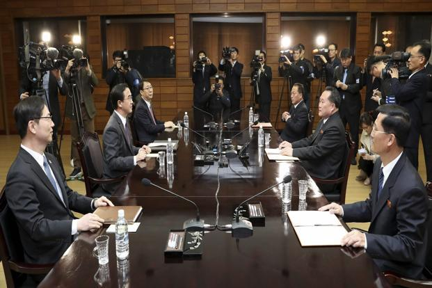 North and South Korea to hold summit in April