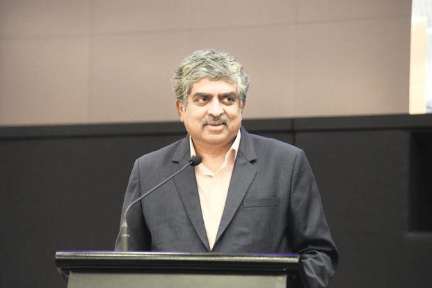 Fundamentum Partnership was launched in 2017 by Infosys founder Nandan Nilekani and Helion Ventures founder Sanjeev Aggarwal. Photo: Hemant Mishra/Mint