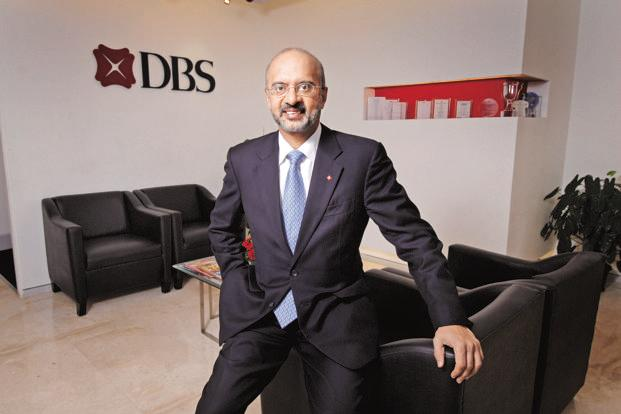 CEO Piyush Gupta has bet big on technology. DBS Group Holdings has the largest application programming interface platform for third-party developers of any bank in the world. Photo: Mint