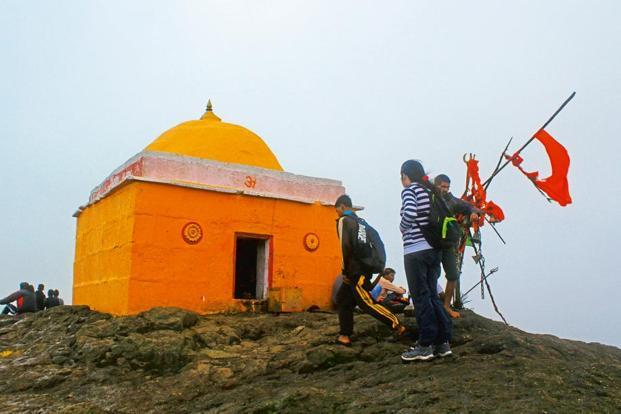 The Kalsubai temple on the summit. Photo: Tania Mukherjee