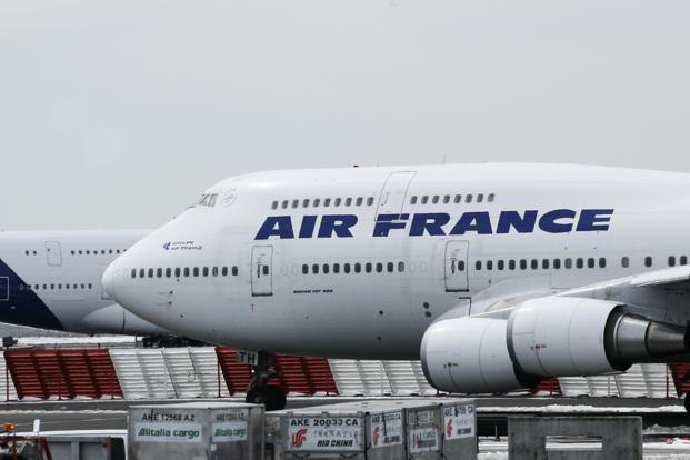 Air France chaos as strike cancels 1 in 4 flights