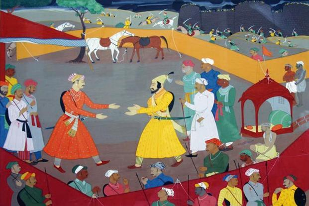 In 1674, Shivaji crowned himself king, with classical ritual in full display. Photo: Wikimedia Commons