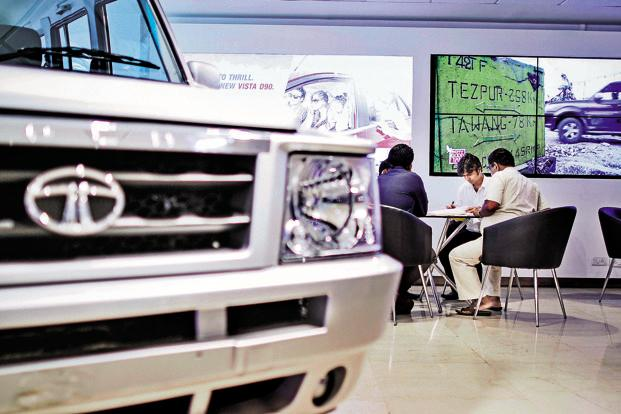 Tata Motors' sales rise 35% to 69440 units in March
