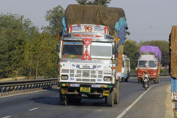 Around 1.1 million taxpayers and 19,800 transporters have registered on the e-way bill portal. Photo: Ramesh Pathania/Mint
