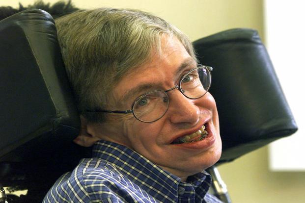 Crowds line street to farewell famed scientist Stephen Hawking