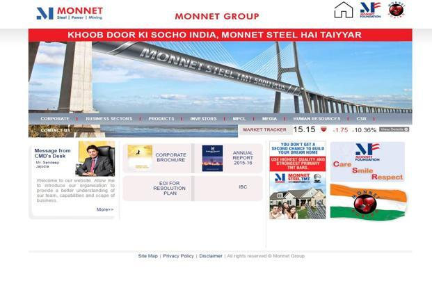 Monnet Ispat owes lenders Rs10,000 crore and the committee of creditors (CoC) has agreed to take a haircut of around 72% to settle the loan.