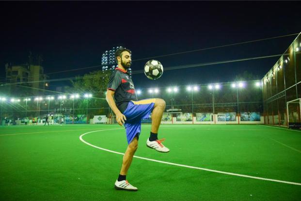 Uday Jhala at a football game. Photo: Aniruddha Chowdhury/Mint