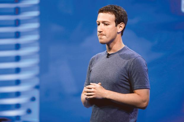 A file photo of Facebook CEO Mark Zuckerberg. Apple Inc. CEO Tim Cook, Tesla Inc.'s Elon Musk and Salesforce.com Inc.'s Marc Benioff have criticized Facebook in the wake of its user data scandal involving political advertising firm Cambridge Analytica. Photo: Reuters
