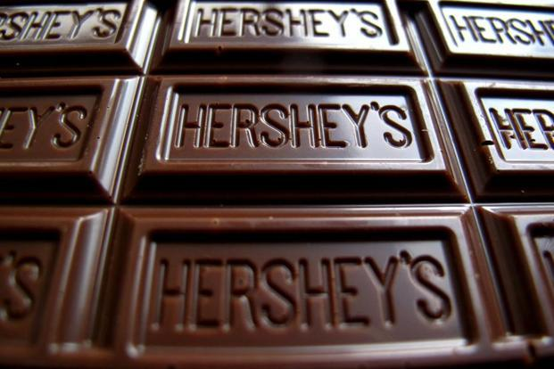 Hershey India's product portfolio includes brands like Hershey's Syrups, Hershey's Milk Booster, Hershey's Spreads and Hershey's Milk Shakes. Photo: Reuters