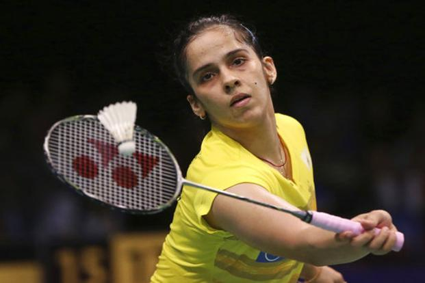 Saina Nehwal in a series of tweets on Monday had expressed frustration about her father's lack of accreditation for the Gold Coast Commonwealth Games. Photo: AP
