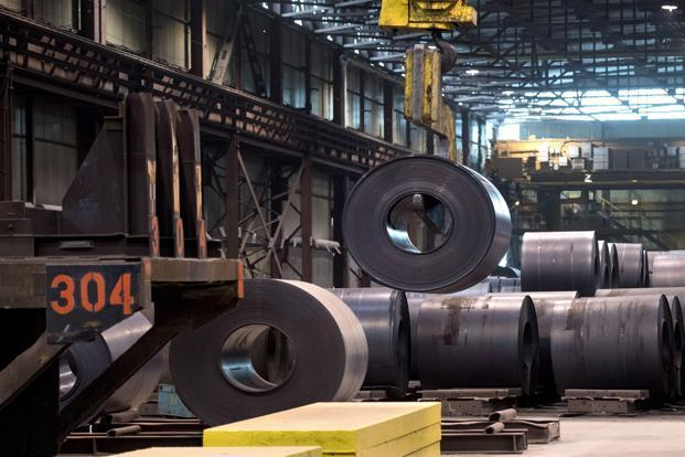 India, the world's 14th largest steel exporter, sold iron and steel worth $320 million and aluminium worth $350 million to the US in 2016-17. Photo: AP