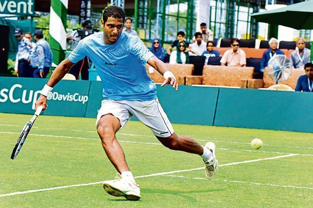 Ramkumar Ramanathan will be India's highest-ranked player at 132. Photo: HT