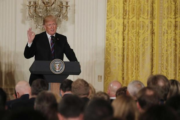 President Trump wants military to do border control