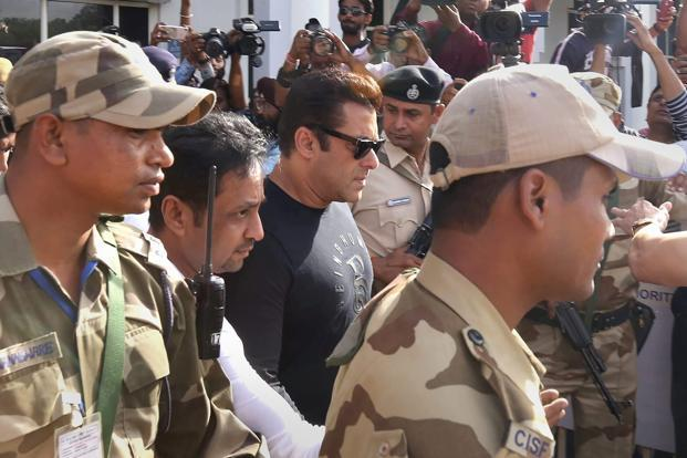 Blackbuck case: Salman Khan to spend a night in jail