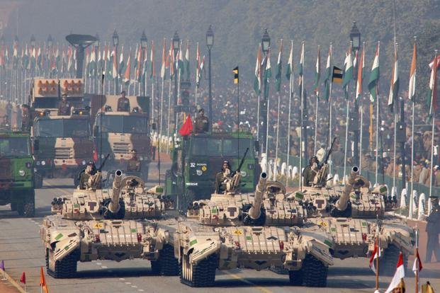 India is a leading importer of arms and military platforms globally and the current government has been maintaining that indigenization of defence manufacturing is a priority area. Photo: Bloomberg