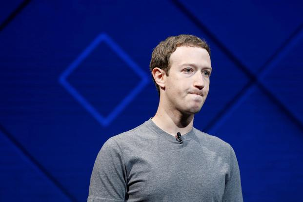 'Give me another chance, Facebook CEO Mark Zuckerberg told reporters during a conference call, said he is still the best person to lead the company. Photo: Reuters