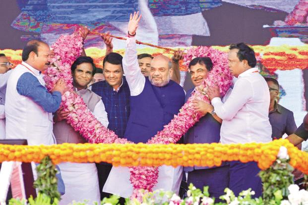 Shah: Fear of BJP has led to unusual tie-ups
