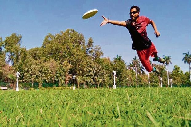 Manish Freeman is the man responsible for creating Udaipur's Ultimate Frisbee team. Photo: Nishant Verma