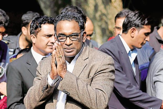A file photo of Supreme Court justice J. Chelameswar. Photo: PTI