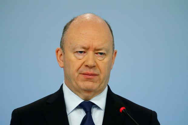 Deutsche sacks chief executive John Cryan