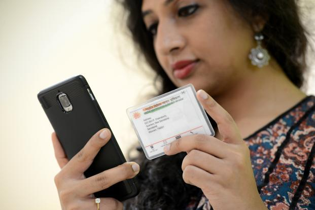 UIDAI's eAadhaar QR code reader software has been made available on the nodal body's website from 27 March 2018. Photo: Hemant Mishra/Mint