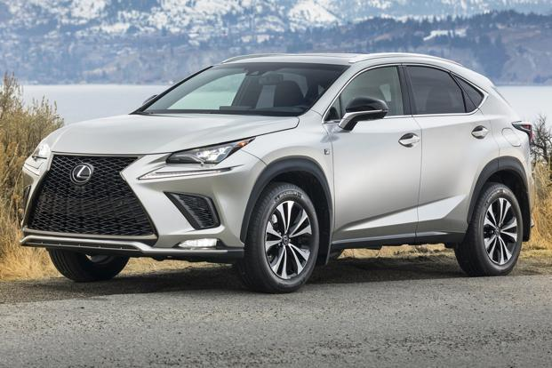 Attractive Lexus, The Luxury Brand From Toyota Motor Corp., Made Its Debut In India