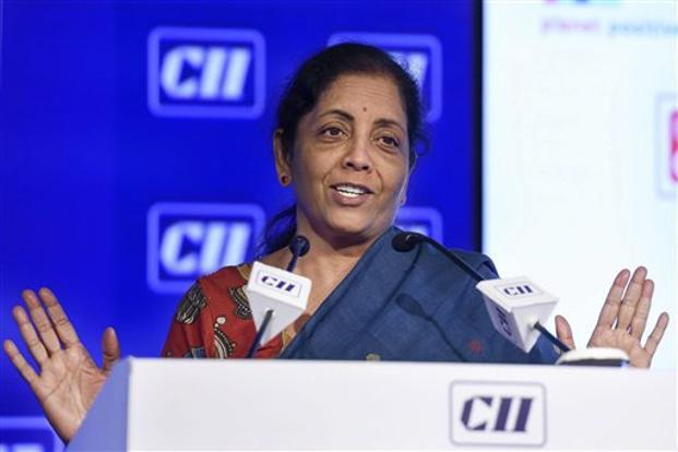 Defence minister Niramala Sitharaman said she would speak to Indian defence attaches stationed in missions abroad to disseminate information about India's growing defence manufacturing industry. Photo: PTI