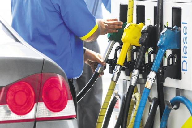 The current high petrol and diesel prices come at a time when overall revenue collections from GST have been erratic. Photo: Ramesh Pathania/Mint