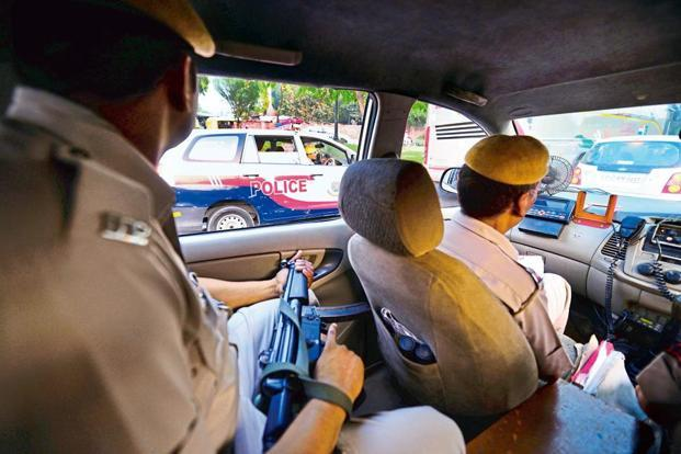 Representational image. A PCR van of the Delhi Police. Photo: Pradeep Gaur/Mint